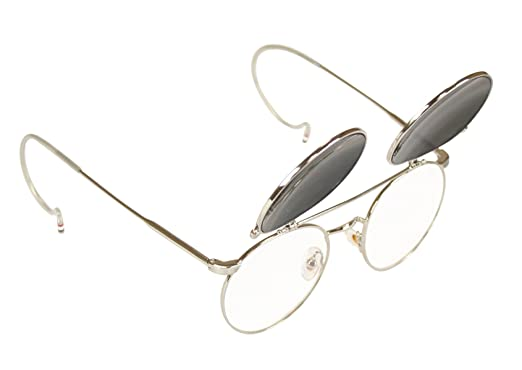 Steampunk Accessories | Goggles, Gears, Glasses, Guns, Mask Historical Emporium Mens Kilimanjaro Flip-Up Sunglasses $18.95 AT vintagedancer.com
