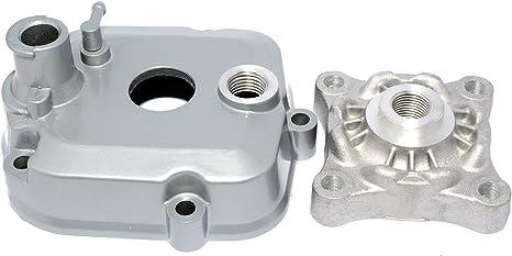 easyboost zylinder kit 50 ccm fur derbi euro 3 und 4 grauguss mit zylinderkopf kolben kolbenringe und zundkerze alle modelle d50b0 senda sm r drd