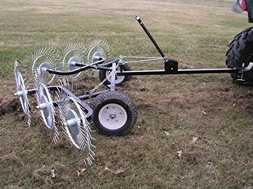 Yard Tuff ACR-500T Acreage Rake, 60-Inch