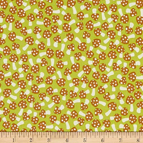 (Robert Kaufman Berry Season Mushrooms Pickle Fabric Fabric by the Yard)