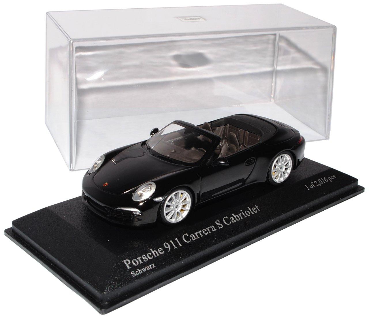 Minichamps Defektes Modell Fehlender Außenspiegel Porsche 911 991 Carrera S Cabriolet Schwarz Ab 2012 1/43 Modell Auto