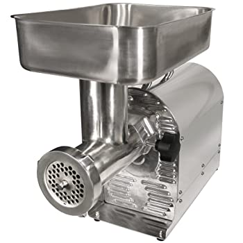 Weston No.8 Commercial Meat Grinder and Sausage Stuffer, 1/2 HP