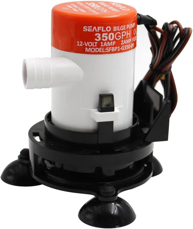 Mini Bomba de Agua de Sentina de Barco de Achique de Pl/ástico