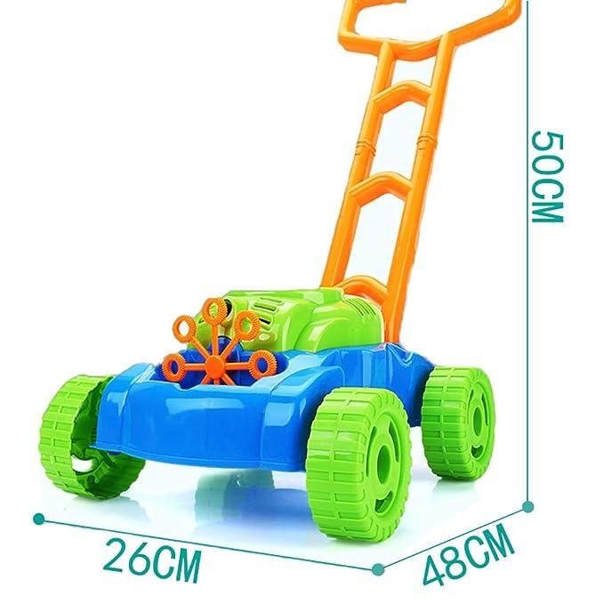 Hongcao Bubble Machine Outdoor Push Toys Máquina Automática ...