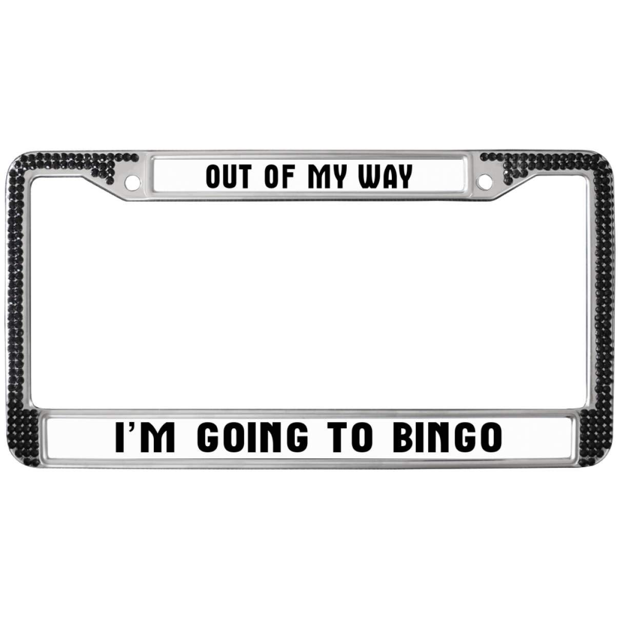 Amazoncom Funny Life Quotes Car Black License Plate Frame