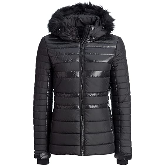 Noize Brie Quilted Jacket - Women's Black, M at Amazon Women's ...