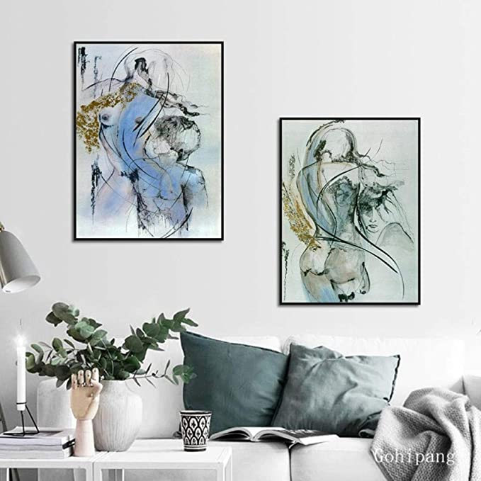 Futuristic House Canvas Print Poster Bedroom Living Room Decor Home Art Picture