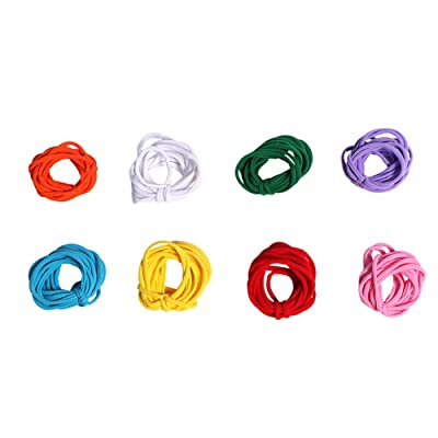 Per Children DIY Knitting Kit Stretchy Loops Potholder Loom Set Innovative Handmade Toys For Kids (Loops only): Toys & Games