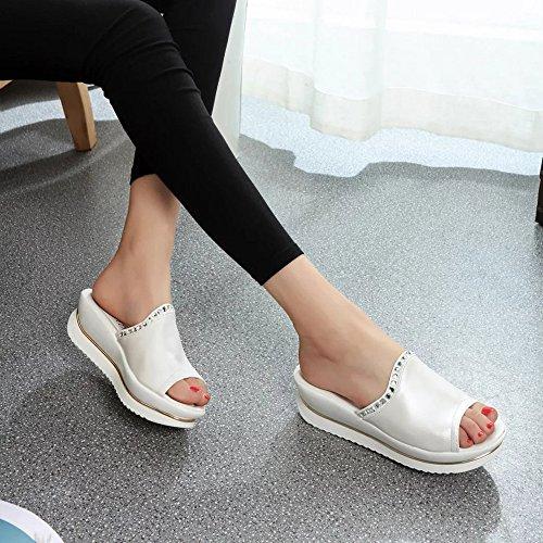 Damen SchuheSannysis Sandalen Pantoffeln Frauen Sandalen Schuhe Wedges Schuhe