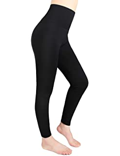 3a72e92326280 Moon Wood Fleece Lined Leggings Women High Waist Elastic Slimming Seamless  Warm Winter Leggings 4 Color