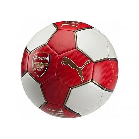 Arsenal - Balón de fútbol Puma (Talla 5/Rojo): Amazon.es: Hogar