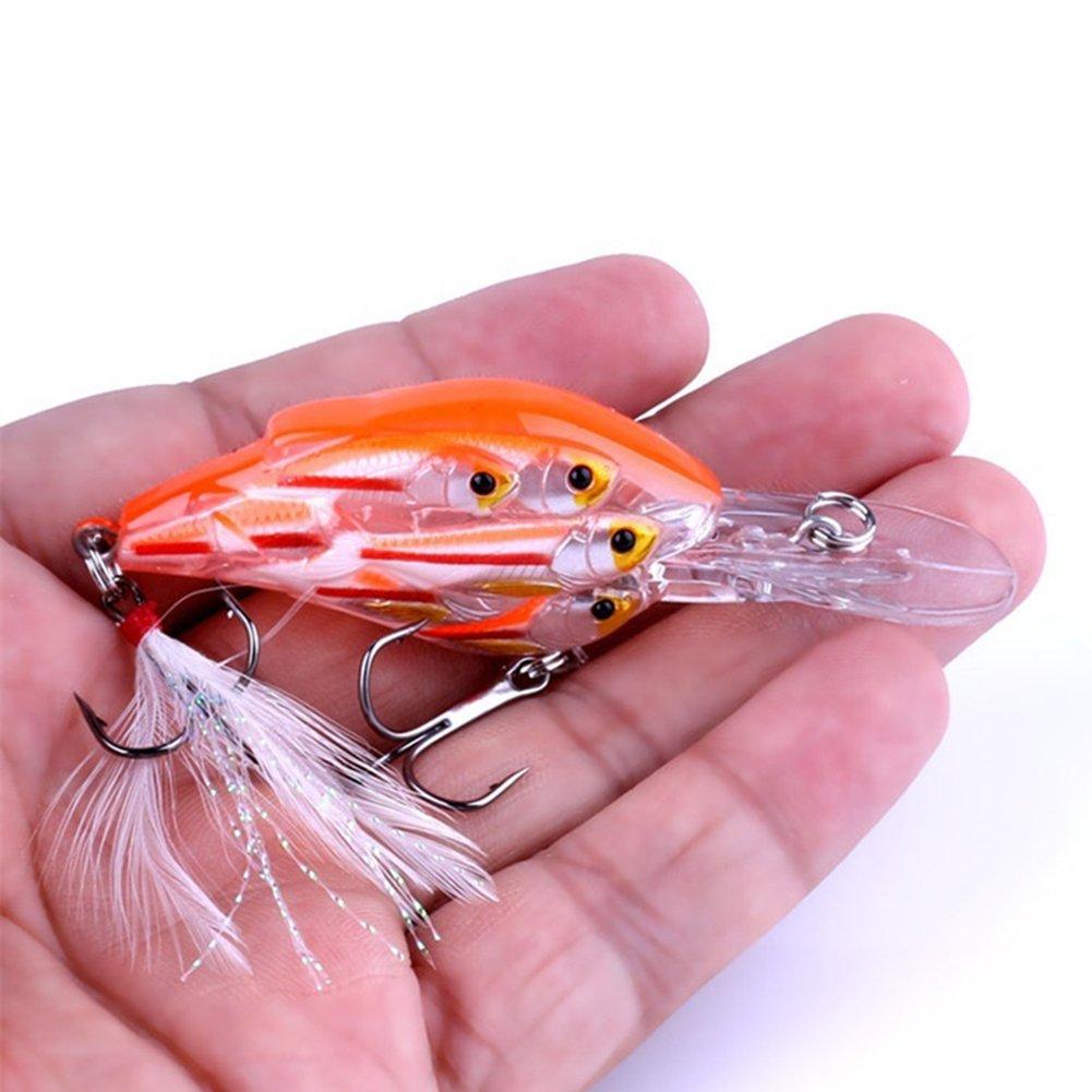 7,5 cm geshiglobal Se/ñuelo de Pesca Realista
