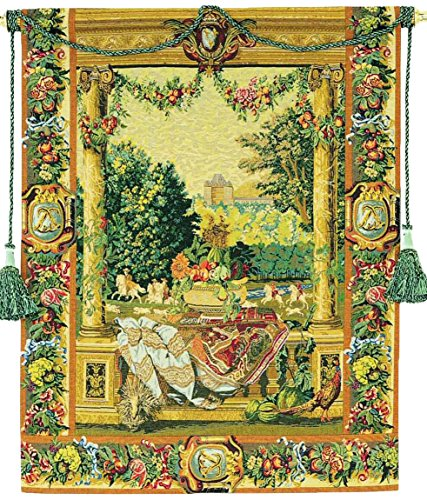 Corona Decor Anticipation European Tapestry Wall Hanging by Corona Decor Co.