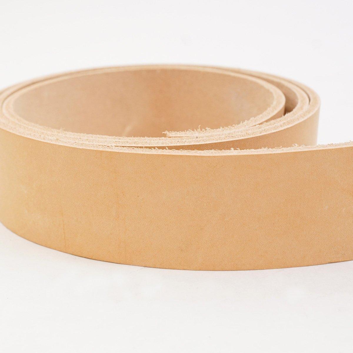 #2 Vegetable Tan Import Cowhide Leather Strip 8//9 oz 1-1//4x50