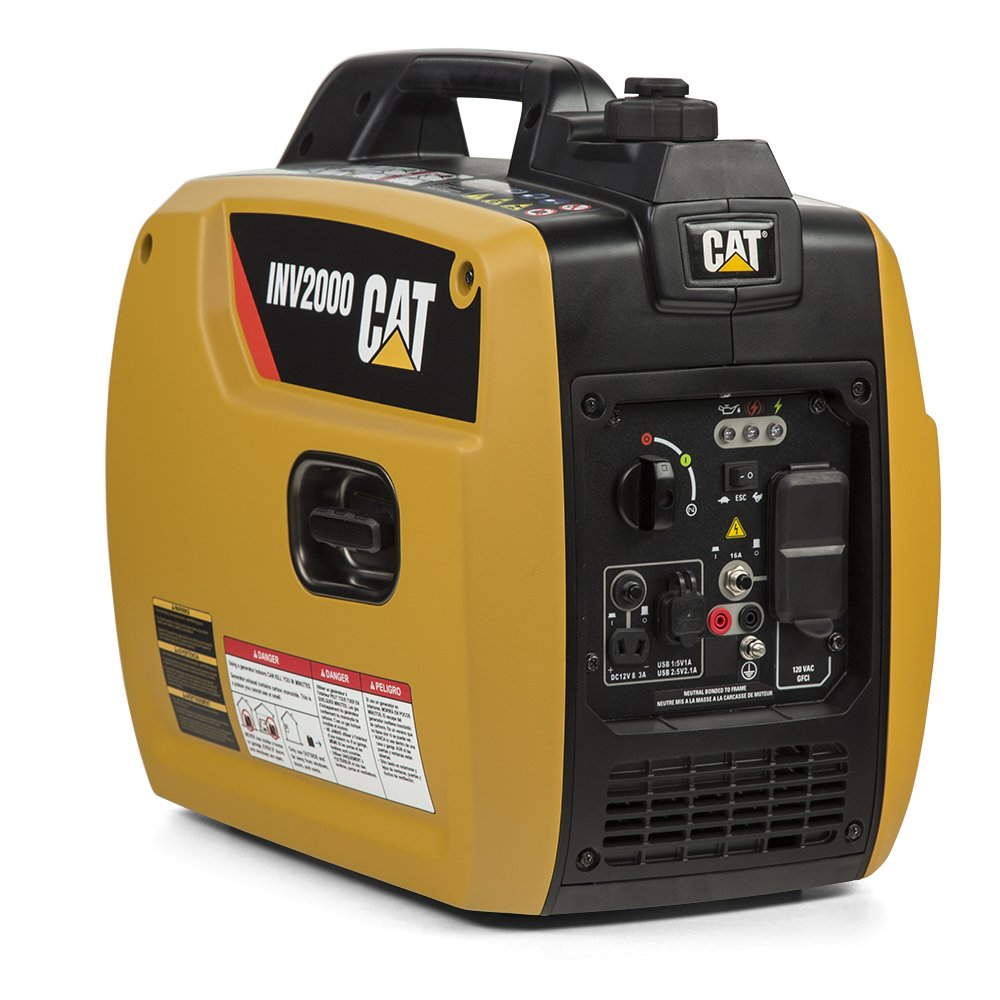 Cat INV2000-1800 Running Watts/2250 Starting Watts Gas Powered Inverter Generator 522-2700