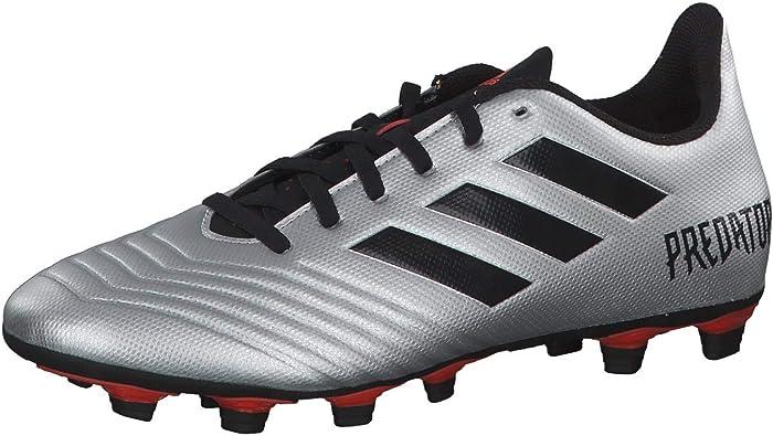 Chaussure de foot adidas Predator 19.4 FxG Silver metallic