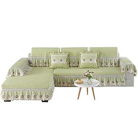 DJHYT Fundas De Sofa,1PCS Tela de algodón tapicería sofá ...
