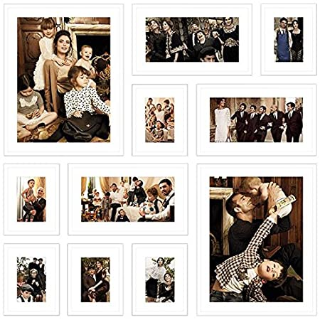 XXL Multi Picture Frame Collage - Set of 11 Frames: Amazon.co.uk ...