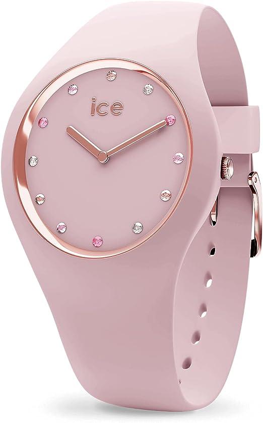 Amazon.com: ICE-WATCH Women's Cosmos Quartz Watch with Silicone ...