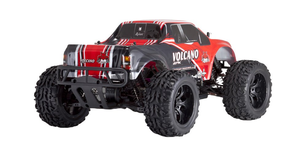 Redcat Racing Electric Volcano EPX Truck with 2.4GHz Radio,Vehicle Battery and Charger Included (1/10 Scale), Red by Redcat Racing (Image #6)