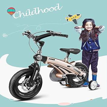 Bicicleta NiñO para 3-8 AñOs,14 Pulgadas Bicicleta De NiñO con ...