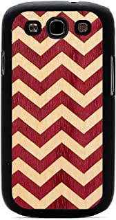 product image for CARVED Matte Black Wood Inlay Case for Samsung Galaxy S3 - Chevron (S3-BC1-CVRN)