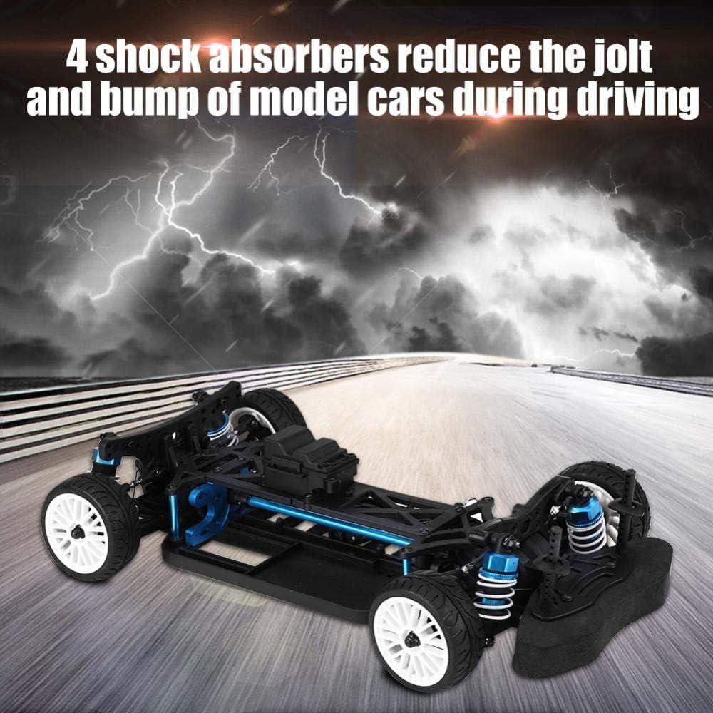 Pbzydu Control remoto de coches, Gas Powered alta velocidad del coche de RC, 4WD con neumáticos Set Escala 1:10 del coche del vehículo eléctrico