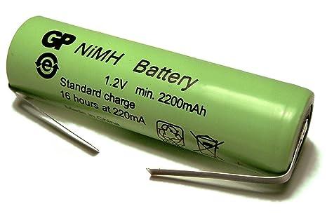 GP Batteries - Batería de repuesto recargable para cepillo de dientes eléctrico Braun Oral-B