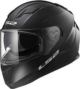 LS2 Helmets Full Face Stream Street Helmet (Gloss Black - Large)