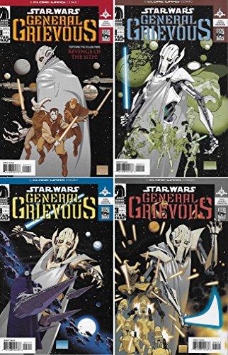 Star Wars - General Grievous #1-4 Complete Limited Series - Dark Horse Comics 2005 - 4 comics ()