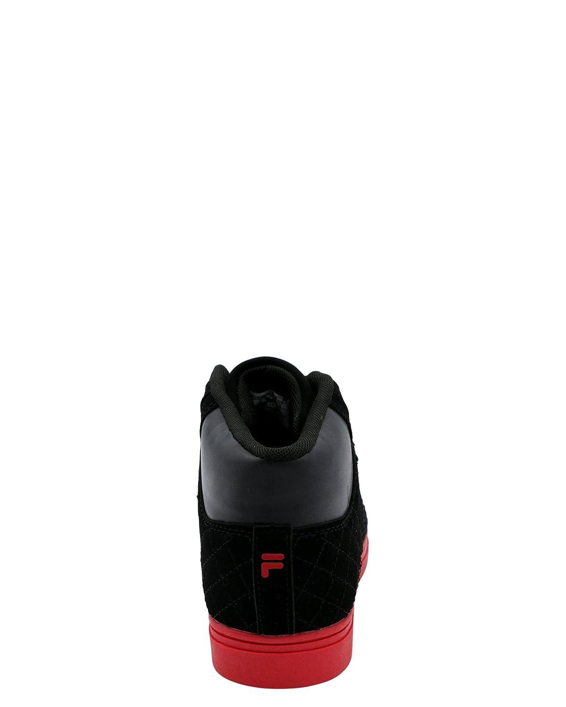Little Kid ,Black//Red,1 Fila Boys Oxidize 2 Sneaker