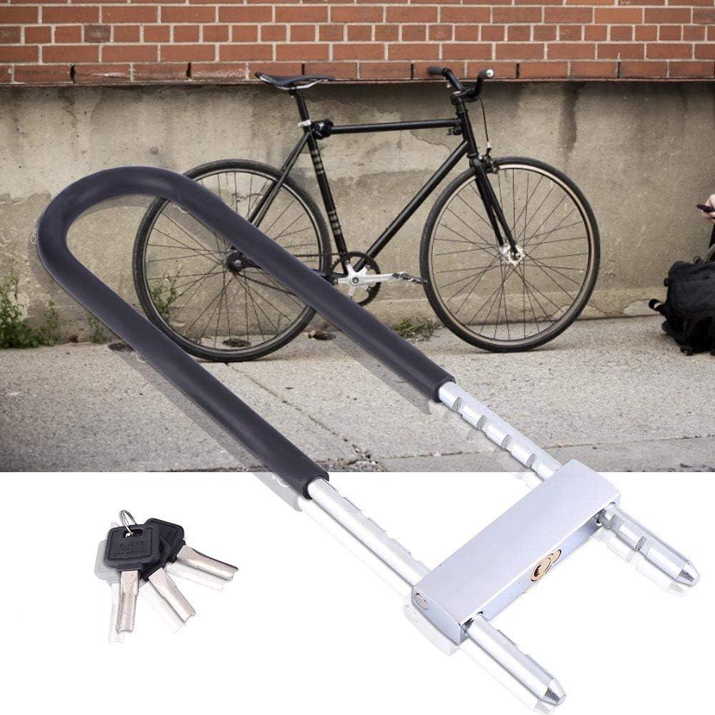 VGEBY Fahrrad-B/ügelschloss Outdoor-U-f/örmiges Fahrradschloss wasserdichte Glast/ür Fahrrad Motorradschl/üssel Diebstahlsicherungen