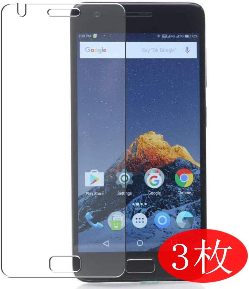 【3 Pack】 Synvy Screen Protector for Lenovo Z2 Plus TPU Flexible HD Film Protective Protectors [Not Tempered Glass]