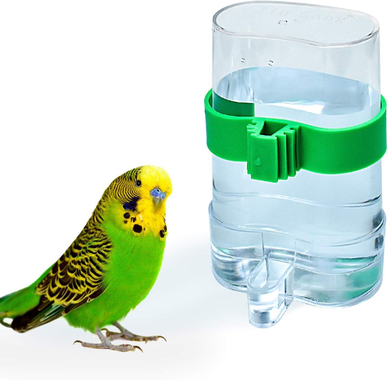 COCOCITY - Dispensador de Agua para pájaros y Loros, Dispositivo de alimentación automática para periquitos, periquitos, cacatúas