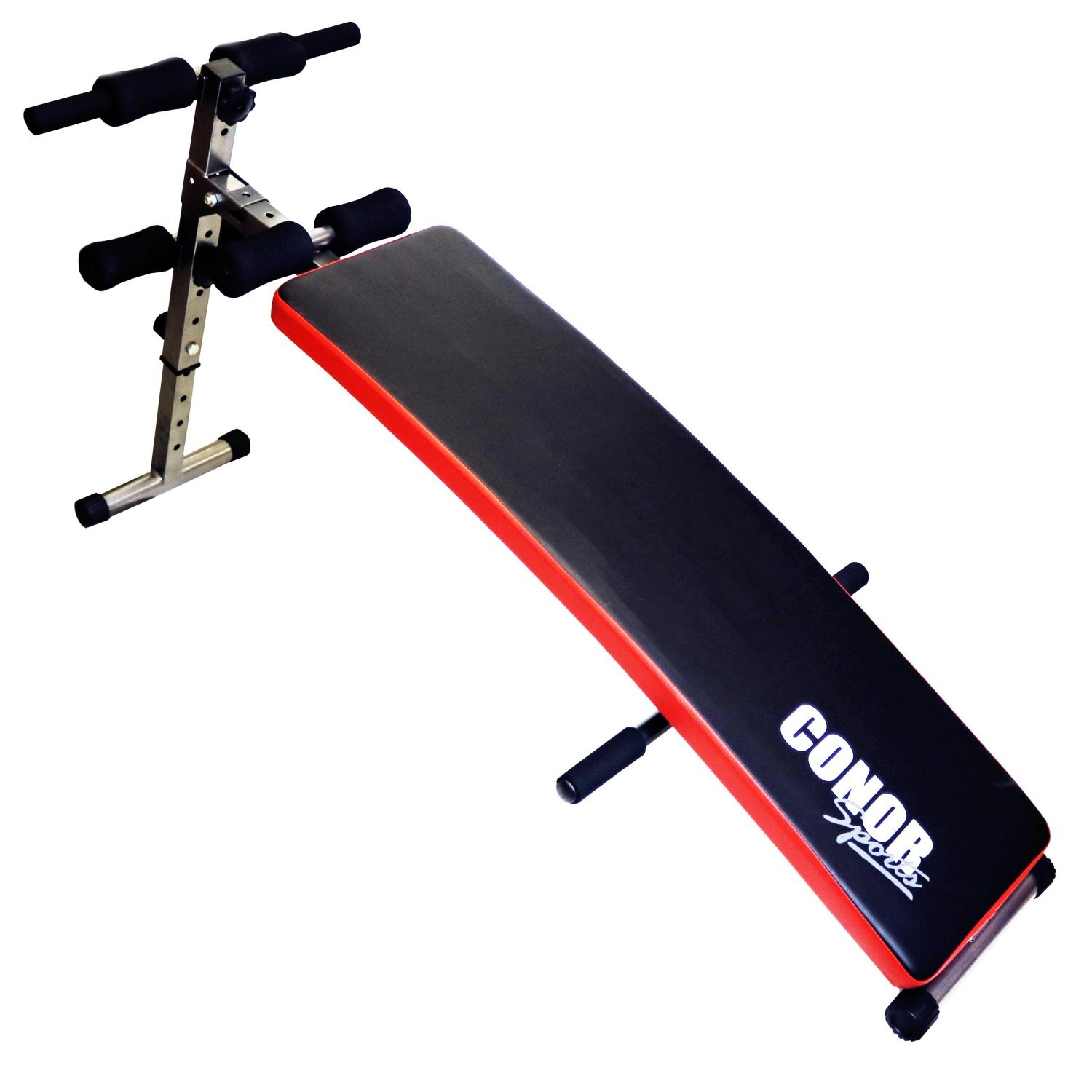 Abs Bench Workout Part - 42: Oypla Conor Sports Folding Sit Up AB Bench: Amazon.co.uk: Sports U0026 Outdoors