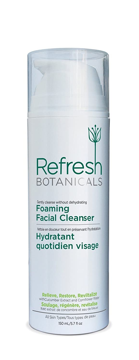 Facial Foaming Cleanser: Best Daily Natural and Organic Face Wash - Men and Women for all skin types, Restorative, Deep Pore cleansing for sensitive skin: Anti-aging and Hydrating, Gluten free, No Parabens MaxBioChem Inc.