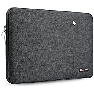 "ZinMark Laptop Sleeve Case 11.6-12.9 Inch, Compatible MacBook Air 11.6-Inch, New MacBook Pro 13 inch A1706/A1708, iPad Pro 12.9"", Spill-Resistant Protective Sleeve(12.8 x 9.25 in) Gray"