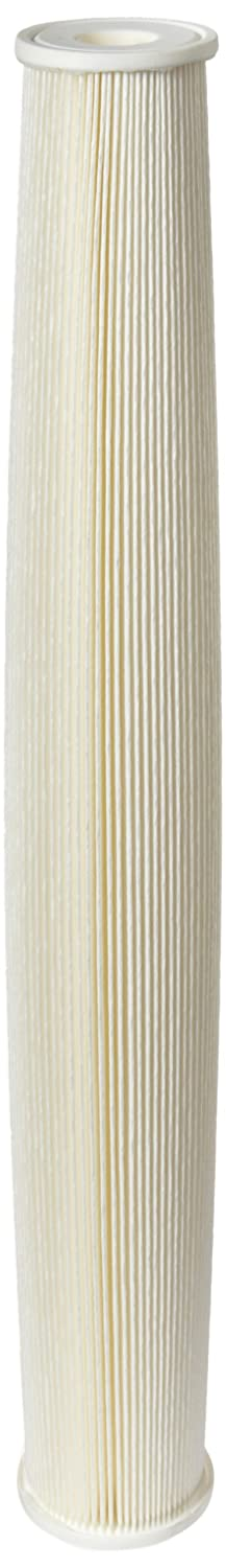 Pentek ECP5 20 Pleated Cellulose Polyester Filter Cartridge 20 x 2 5 8 5 Microns