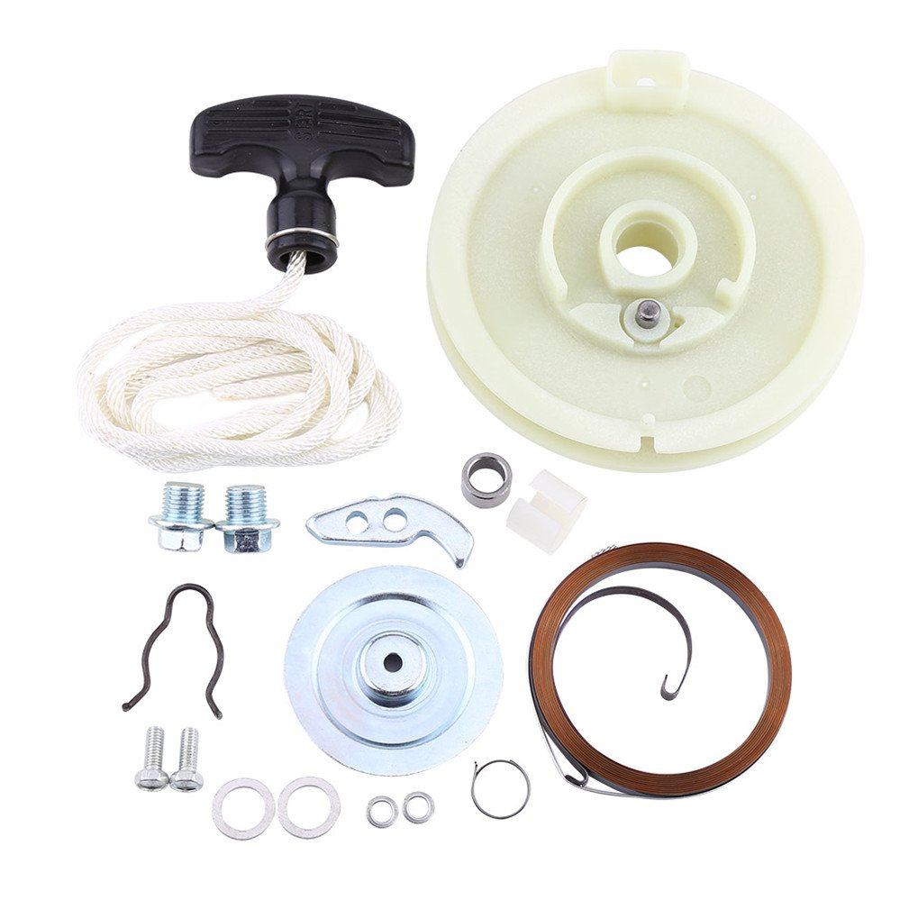 Walfront ATV Recoil Pull Starter Start Repair Rebuild Kit for Polaris Sportsman 500 1996-2011 Walfront-082213