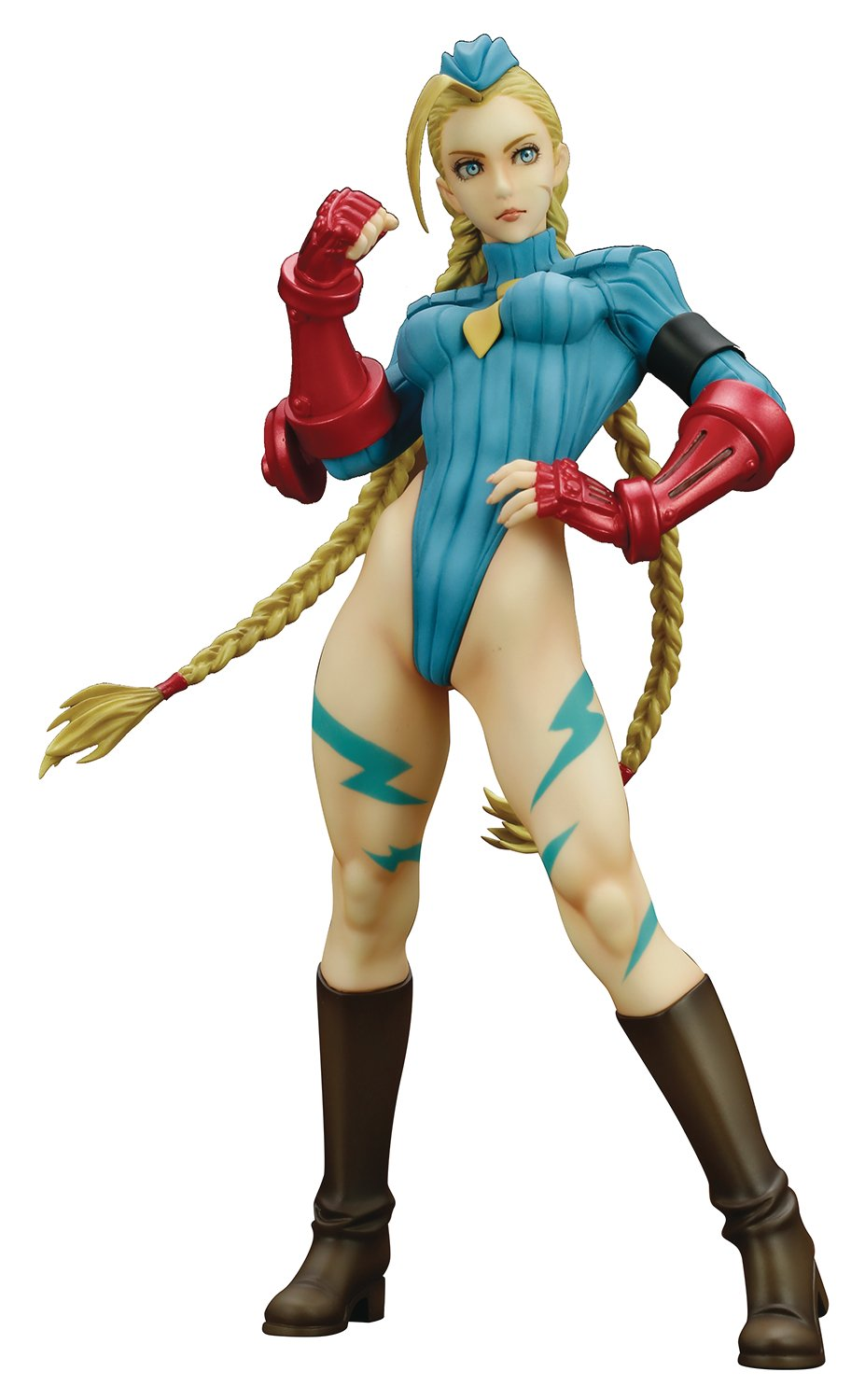 Kotobukiya Street Fighter Alpha Cammy Alpha Costume Ver. Bishoujo Estatua