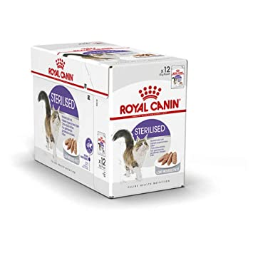 Royal Canin Sterilised, Comida para Gatos - Paquete de 12 x 85 gr - Total: 1020 gr: Amazon.es: Productos para mascotas