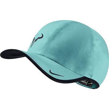 e47c38b1 ... spain mens nike rafa bull featherlite adjustable tennis hat dusty  cactus black seaweed 220b2 ba95a ...