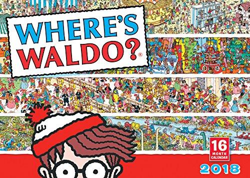 Where's Waldo? 2018 Wall Calendar (CA0171) cover