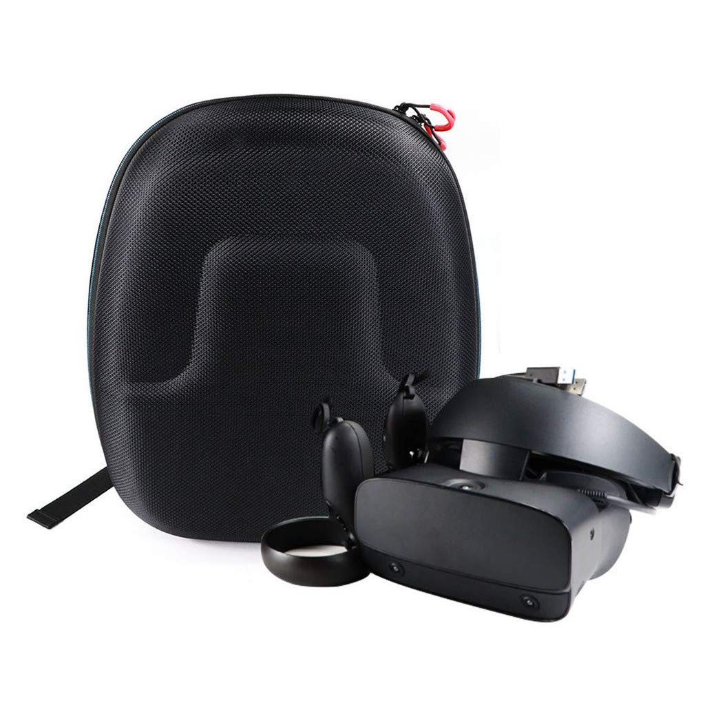 Tasche f/ür Oculus Rift S PC-Powered VR Gaming Headset,Colorful Tragetasche Eva Hart Reise Schutz H/ülle Etui Tasche f/ür Oculus Rift S PC-Powered VR Gaming Headset