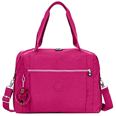 Kipling Ferra Weekender Duffel Bag Very Berry