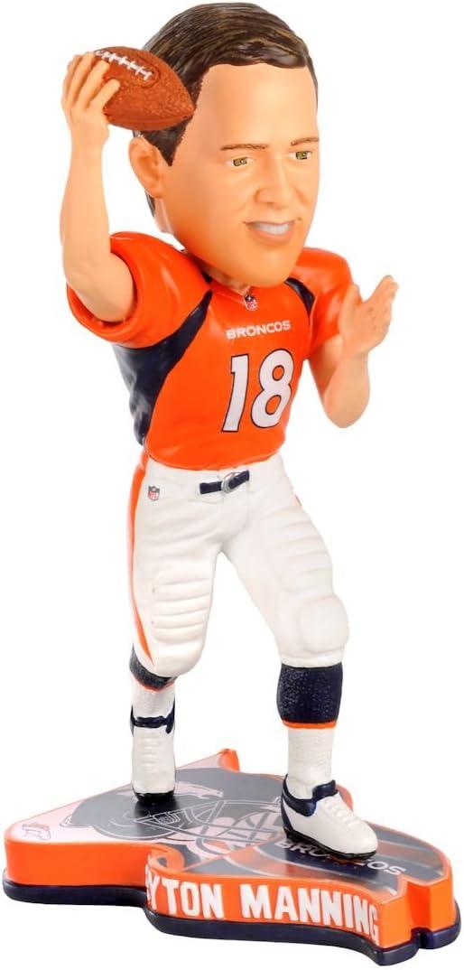 Denver Broncos Peyton Manning 2013 Pennant Base Bobblehead Figurine