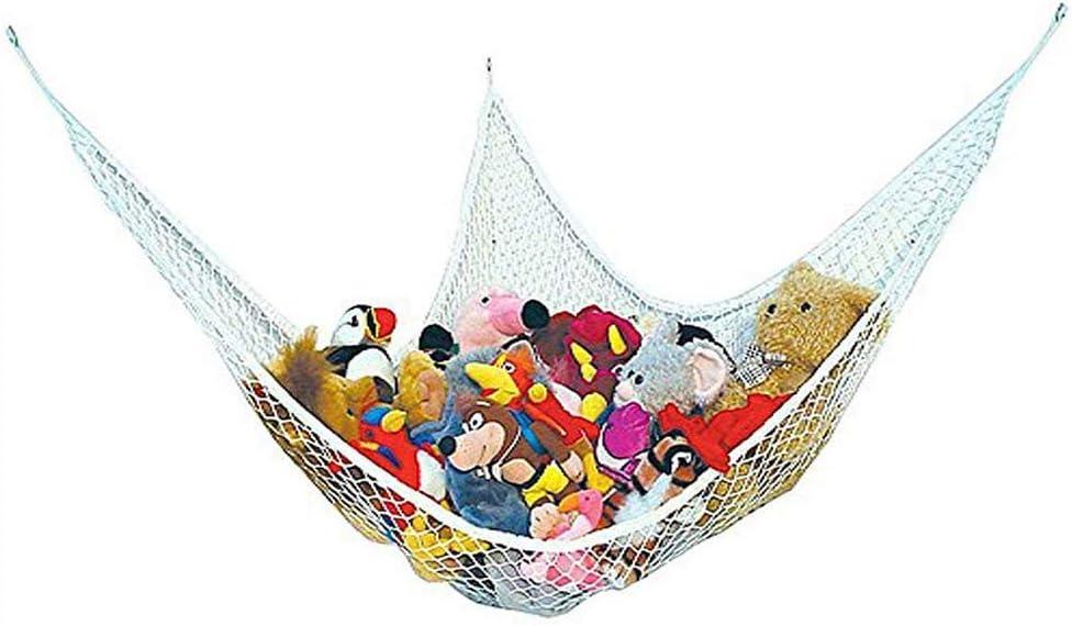 ANNIUP Hamaca de Malla para Juguetes de bebé, Organizador de Malla de Almacenamiento, Hamaca de Juguete, habitación de niños, Organizador de Almacenamiento de guardería, (1,4 x 1 x 1 m)