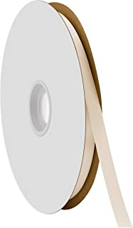 "product image for Berwick Offray 3/8"" Single Face Satin Ribbon, Ivory White, 100 Yds"