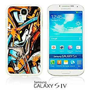 OnlineBestDigitalTM - Funny Pattern Hardback Case for Samsung Galaxy S4 IV I9500 / I9505 - Graffiti Art