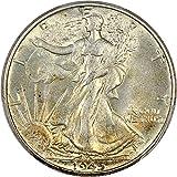 1945 P Walking Liberty Halves Half Dollar MS62 PCGS